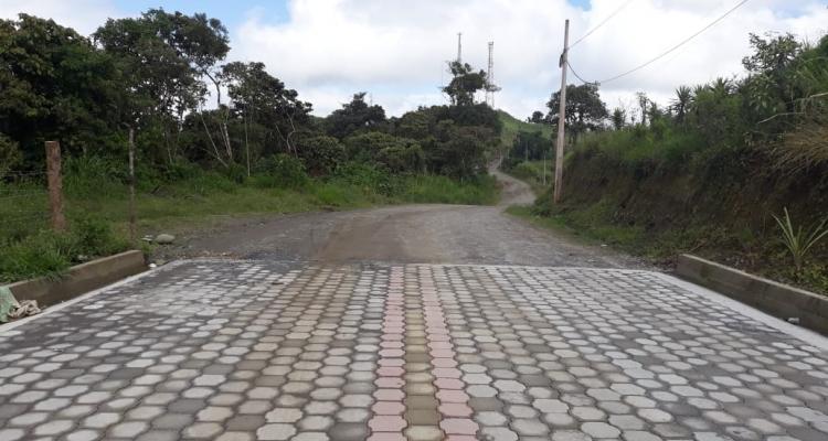 OBRAS VIALES EN NUESTRA PARROQUIA